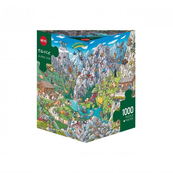 """Puzzle """"Alpine Fun"""" von HEYE"""