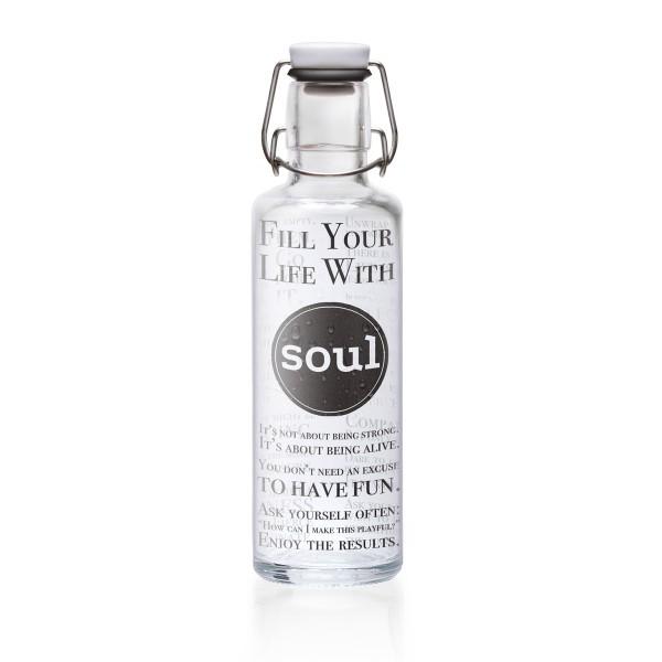 Ein Gute-Laune-Macher in Flaschenform: von Soulbottles