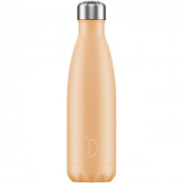 """CHILLY'S Bottle Isolierflasche """"Pastell Orange"""" - 500 ml (Orange)"""