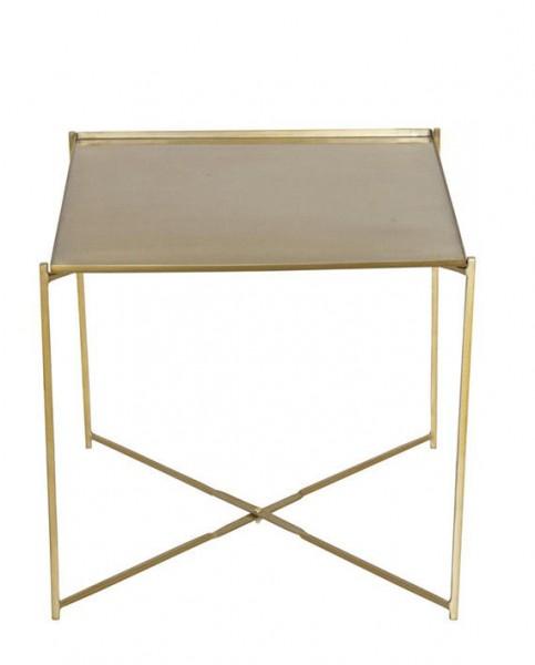 """AU Maison Beistelltisch """"Tray"""" (Gold)"""