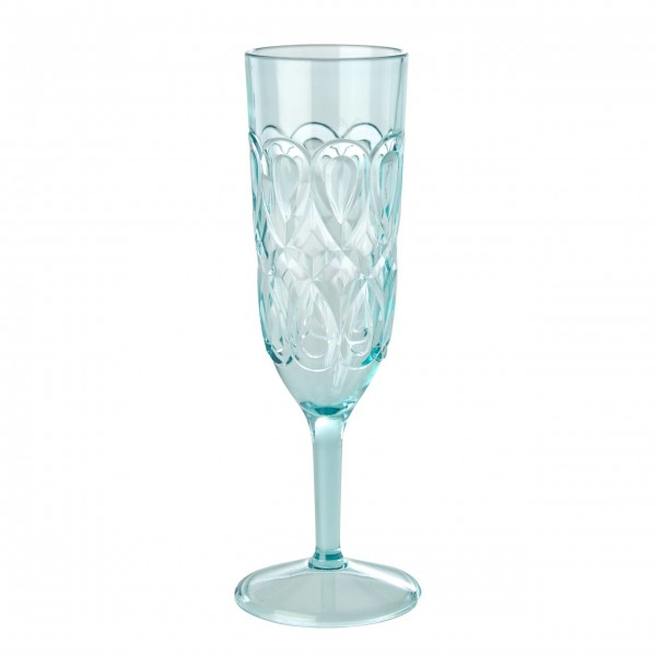 Wundervolles Champagner Glas aus der neuen rice Kollektion