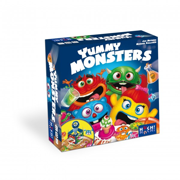 "HUCH! Kinderspiel ""Yummy Monsters"""