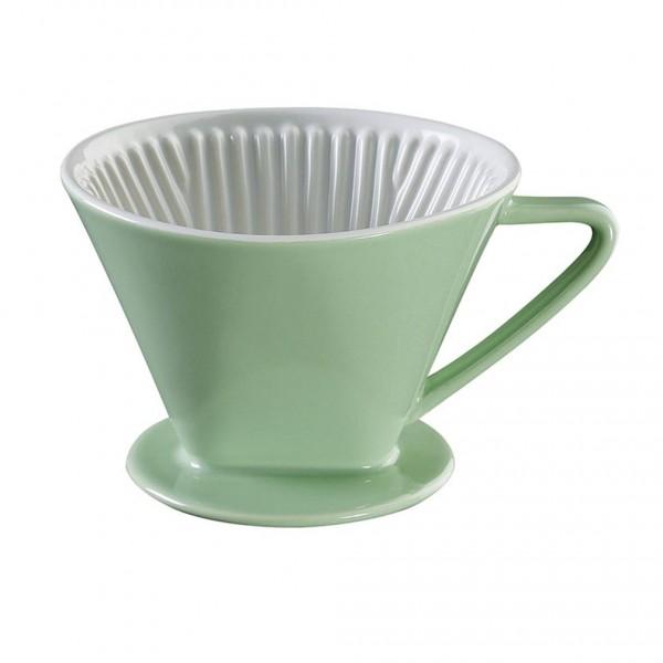 Cilio Kaffeefilter (Pastellgrün) Ø 14 cm