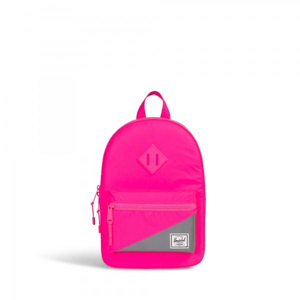 """Herschel """"Heritage Kids"""" Rucksack (Neon Pink)"""