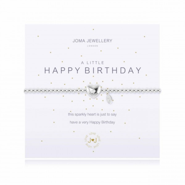 "Joma Jewellery Armband ""Happy Birthday"""