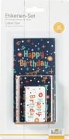 """Birkmann Etiketten-&Geschenkanhänger-Set """"Happy Birthday"""""""