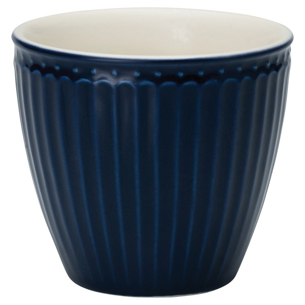 Dunkelblauer Latte Cup Alice von GreenGate
