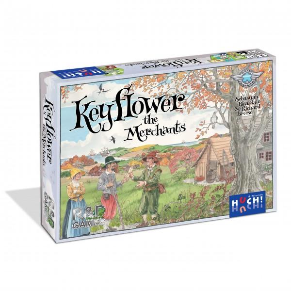Gesellschaftsspiel Keyflower - The Merchants von HUCH!