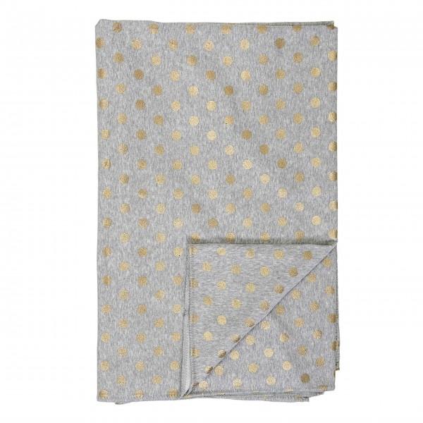 Schöner Bettüberwurf mit goldenen Punkten: von Bloomingville