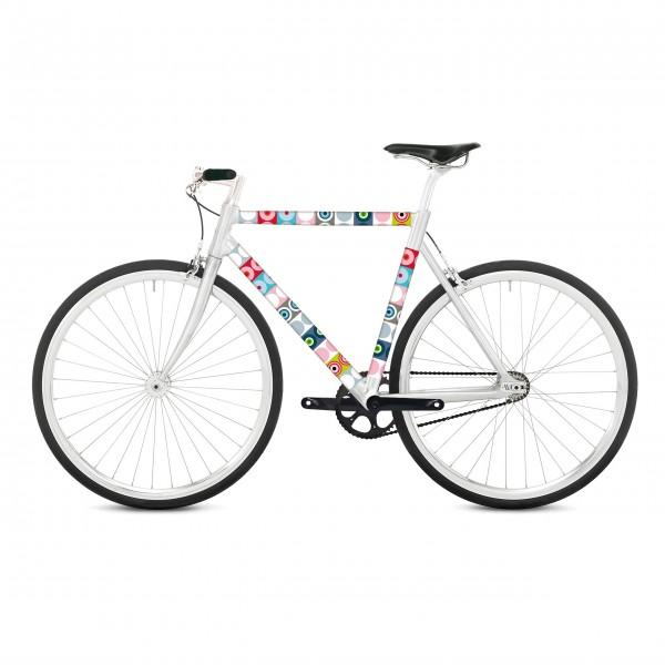 Buntes Fahrradkleid von Remember