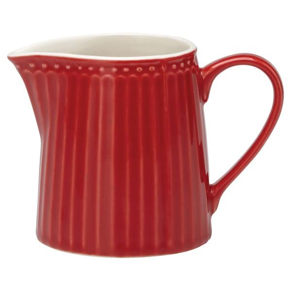 Rotfarbenes Milchkännchen Alice von GreenGate