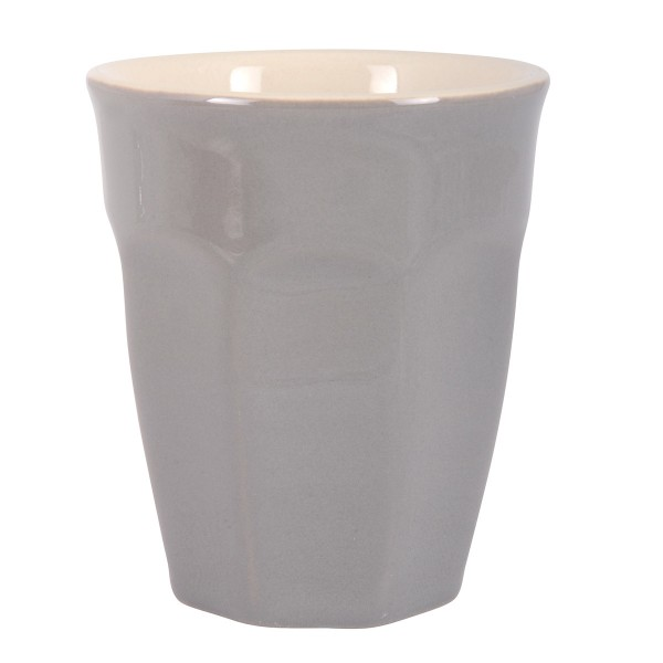 Ib Laursen Latte Becher in Grau