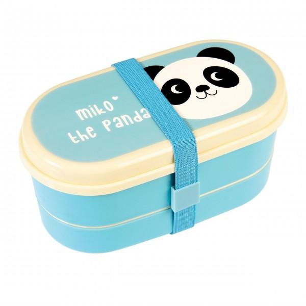 Praktische Panda-Lunchbox für Unterwegs