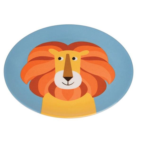 Der Löwe wünscht guten Appetit