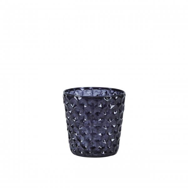 Kerzenglas (grau) von Bahne