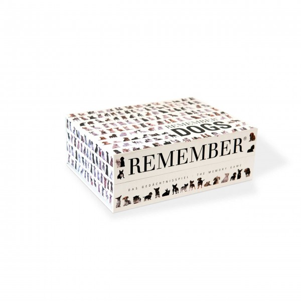 Remember 44 Dogs Gedächtnisspiel