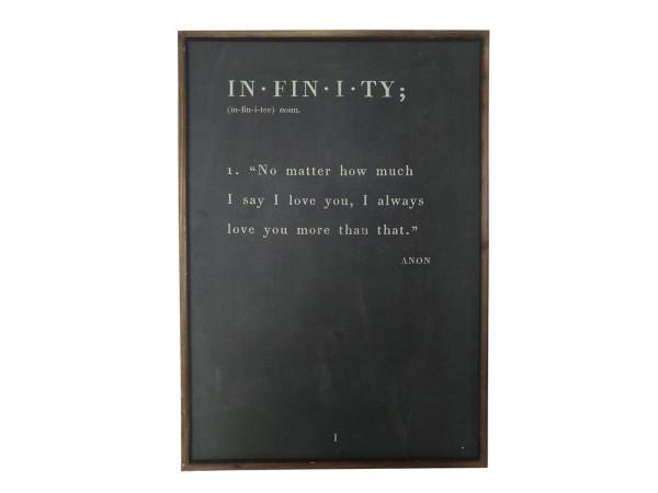 """Chic Antique gerahmtes Bild """"Infinity"""""""