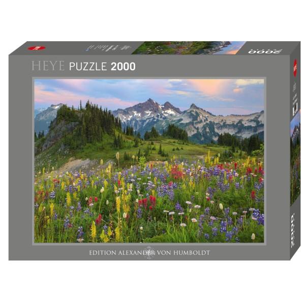 """Puzzle """"Tatoosh Mountains"""" von HEYE"""