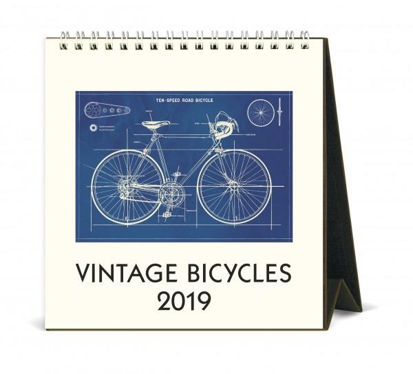 "Cavallini Tischkalender 2019 ""Vintage Bicycles"""