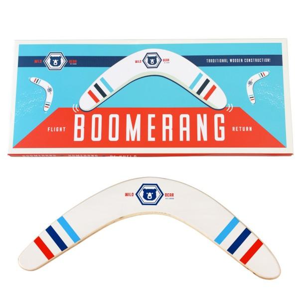 """Hölzerner Boomerang """"Wild Bear"""" von Rex LONDON"""