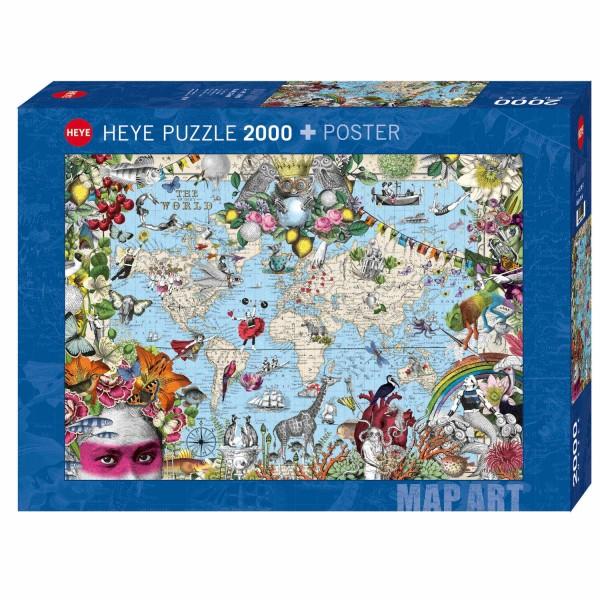 """Puzzle """"Quirky World"""" von HEYE"""