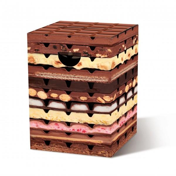"""Papphocker """"Schokolade"""" von Remember"""