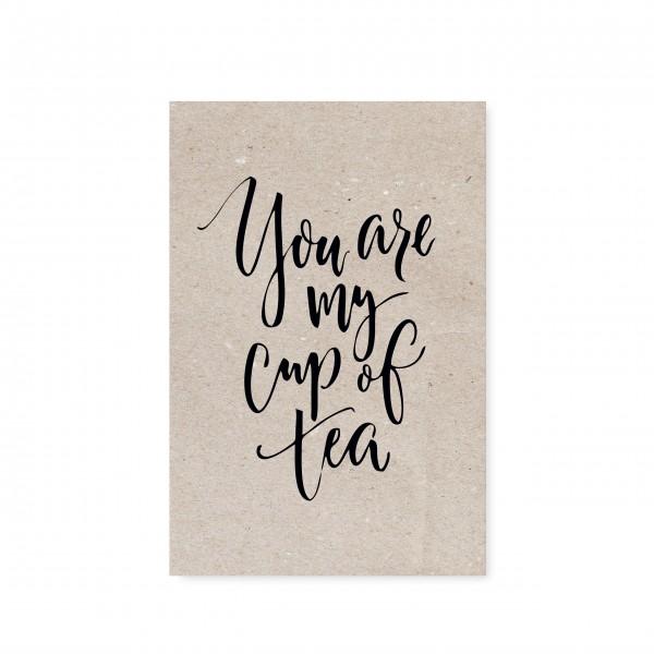 Die Postkarte für unsere Teeliebhaber