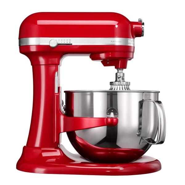 """KitchenAid """"Artisan"""" Küchenmaschine (Empire Rot) 6,9L"""