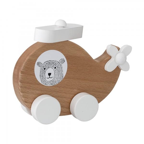 Bloomingville Spielzeugflugzeug aus Holz (Braun)