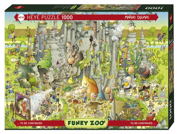 """Puzzle """"Jurassic Habitat"""" von HEYE"""