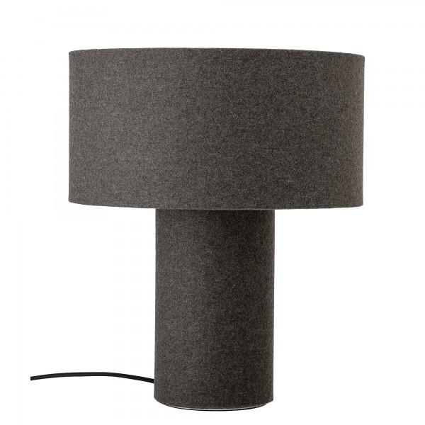 Bloomingville Tischlampe aus Wolle (Grau)