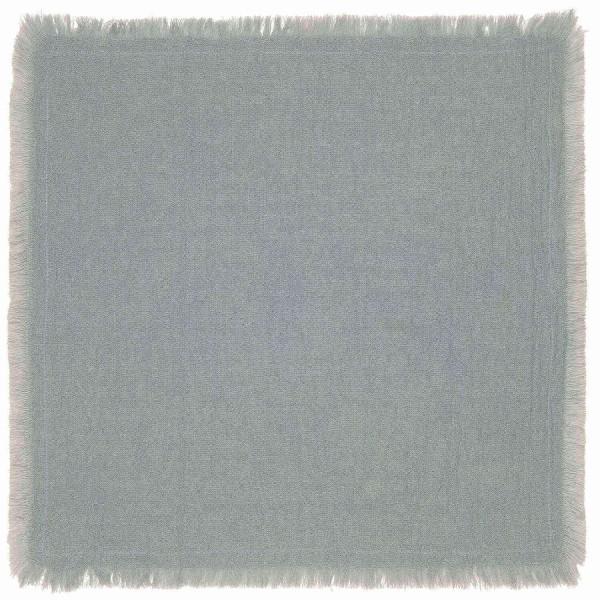 Ib Laursen Stoffserviette doppelt gewebt (Hellblau)