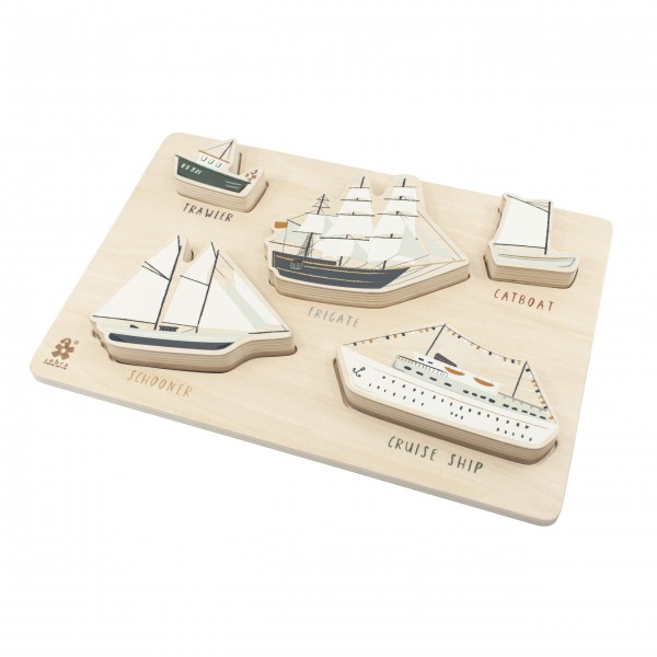 "Puzzle aus Holz ""Seven Seas"" von Sebra"