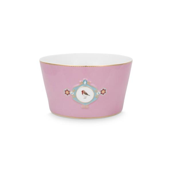 """Pip Studio Schale """"Love Birds - Medallion"""" - 20 cm (Pink)"""