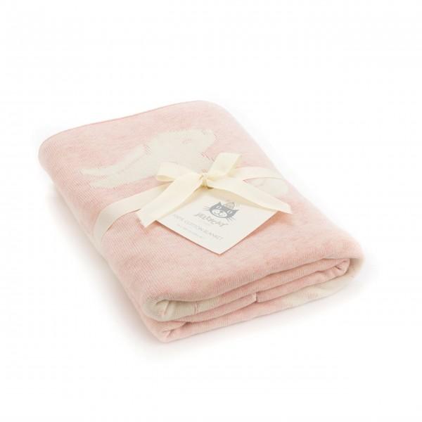 """Jellycat Decke """"Bashful - Hase"""" (Pink)"""