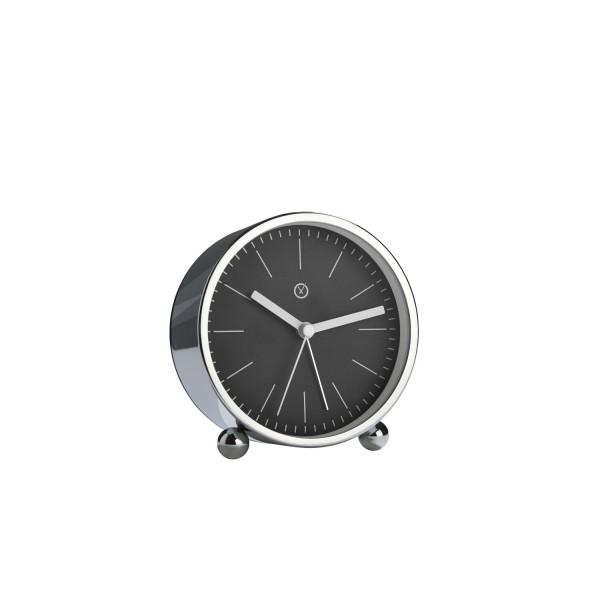 """Wecker """"PADUA"""" (Schwarz) - Durchmesser 11cm von SOMPEX"""