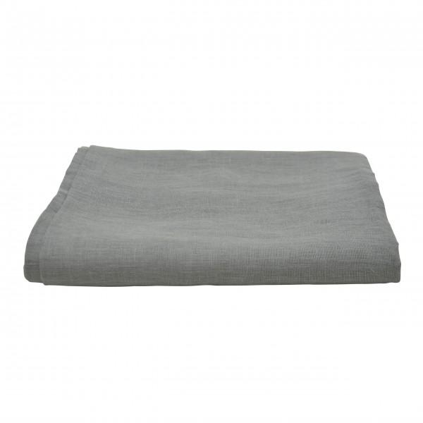 Tischdecke aus Leinen - 150x250 cm (Grau) von Solwang Design