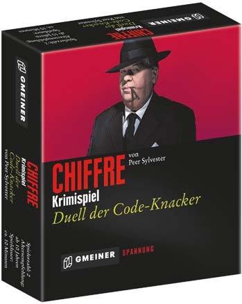 """Gesellschaftspiel """"Chiffre"""" von Gmeiner"""