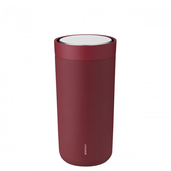 """Stelton To-Go Becher """"Click"""" - 0,4L (Rot)"""