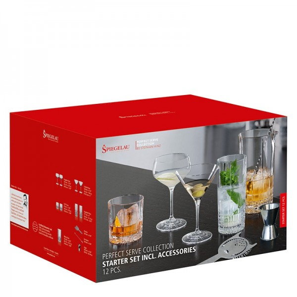 "Spiegelau Hausbar Starter Set ""Perfect Serve Collection"""
