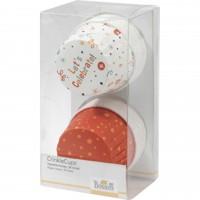 """Birkmann Crinklecups """"Happy Birthday"""" (Weiss/orange)"""