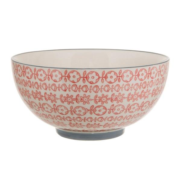 """Keramikschale von Hand bemalt - Bloomingville """"Cecile"""""""