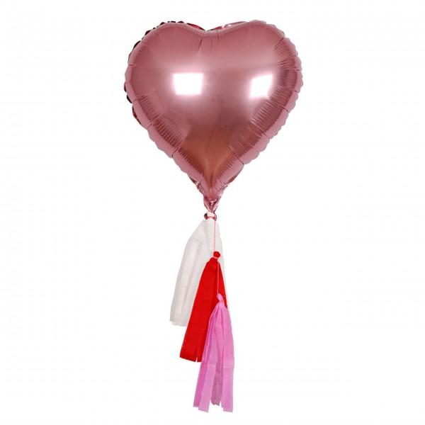 "Folienluftballons ""Pink Heart"" von Meri Meri"