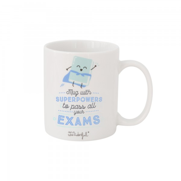 "Tasse ""Superpowers to pass all your exams"" von mr. wonderful*"
