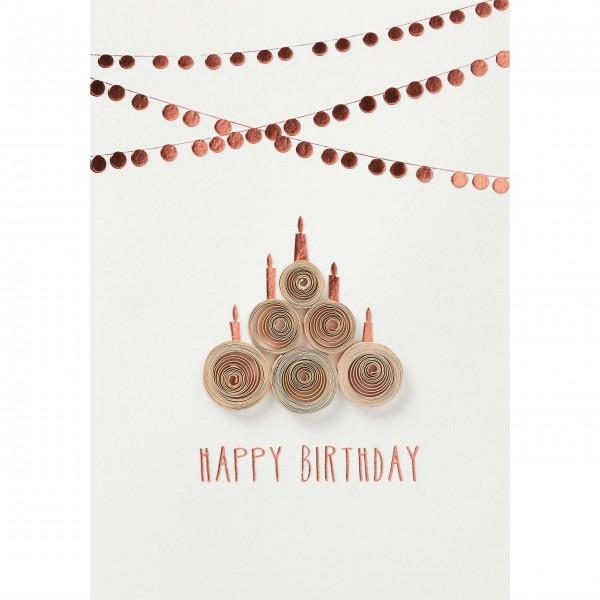 Liebevoll gestaltete Geburtstagskarte von räder