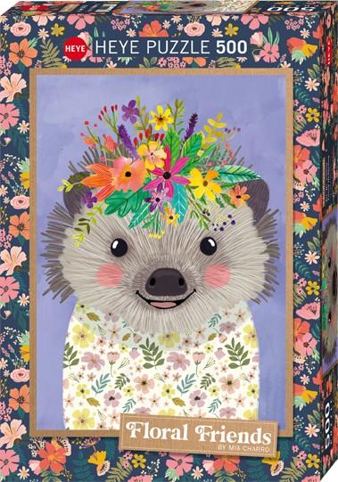 Puzzle Funny Hedgehog Standard 500 Pieces