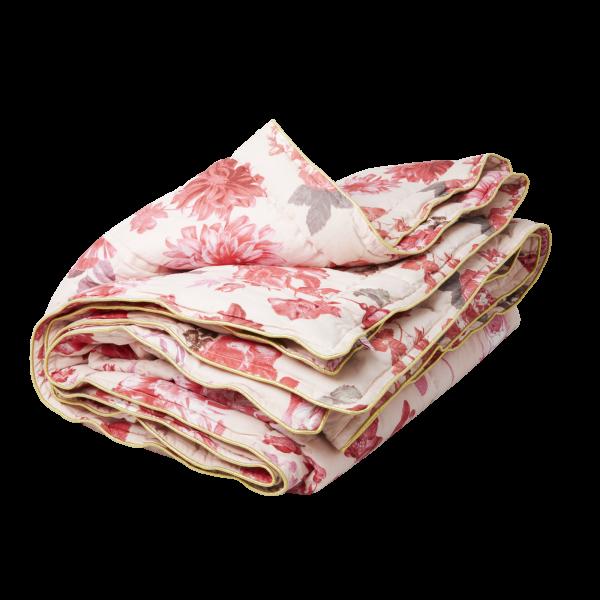 "rice Quilt ""Rose Print"" (Pink)"