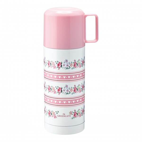"""GreenGate Thermosflasche """"Melina"""" (White)"""