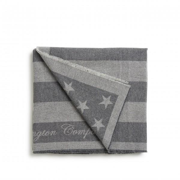 """Lexington Decke """"Flagge"""" (Grau)"""