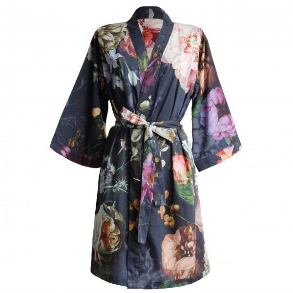 """Essenza Kimono """"Fleur"""" - S (Nachtblau)"""